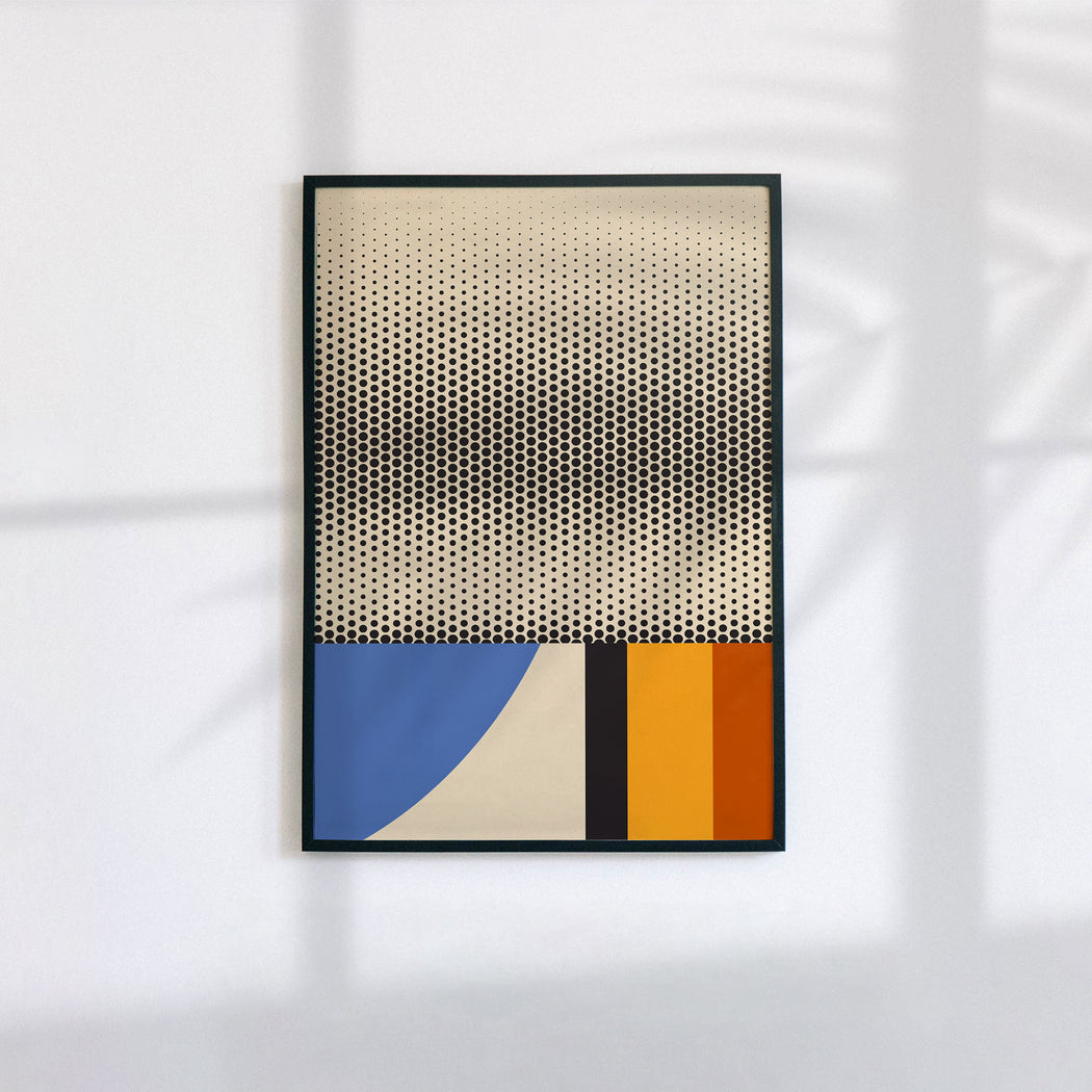 Abstract Modern Poster