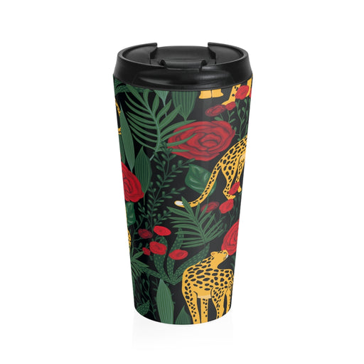 Cheetah Romance Travel Mug