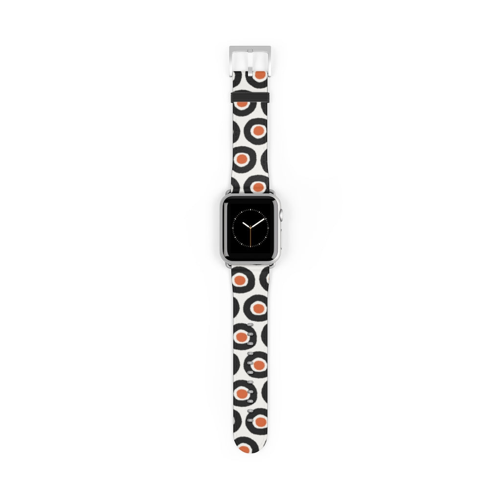 Retro Circle Apple Watch Band