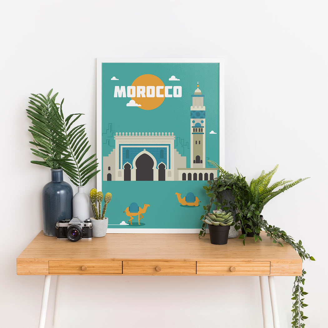 Morocco Poster