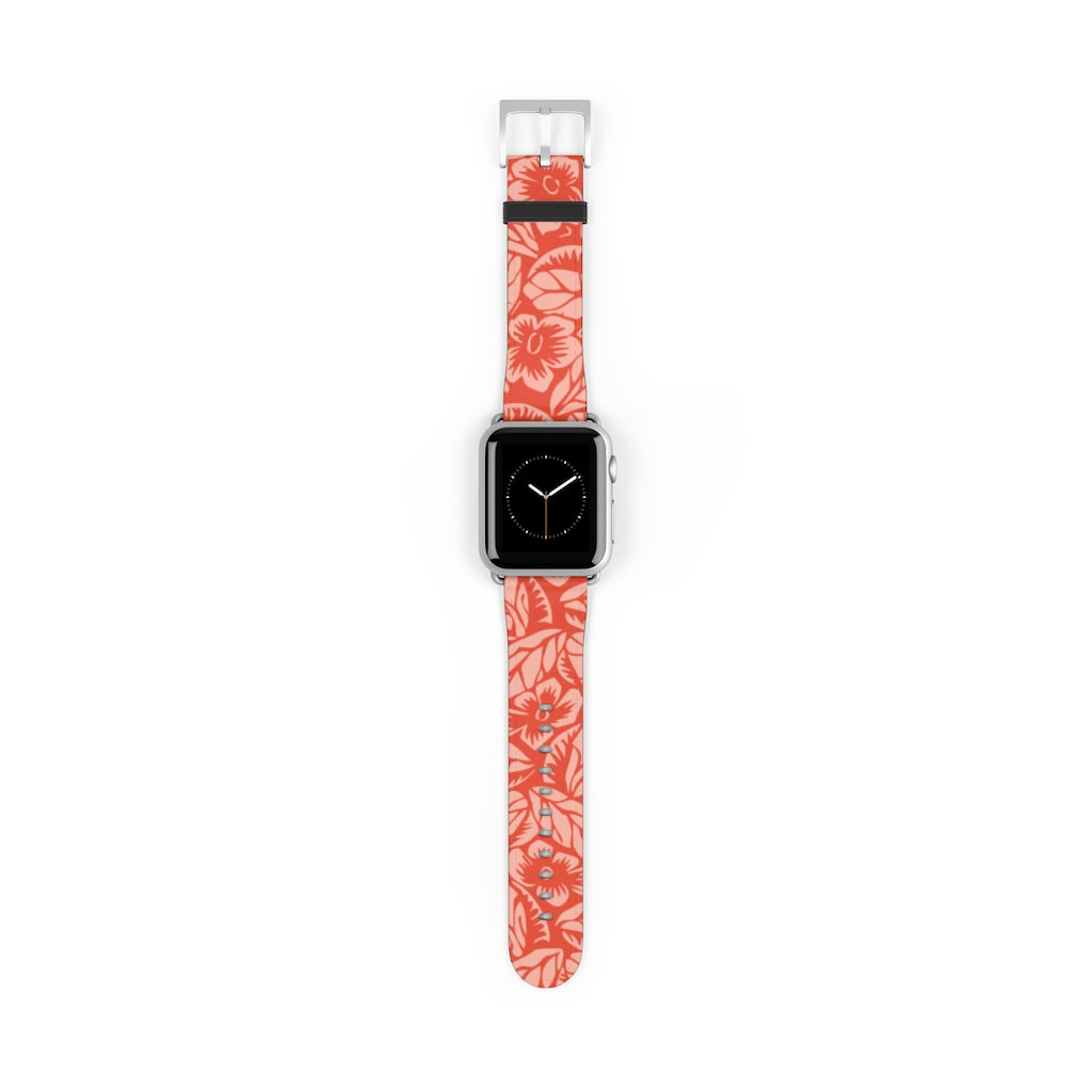 Vintage Floral Apple Watch Band
