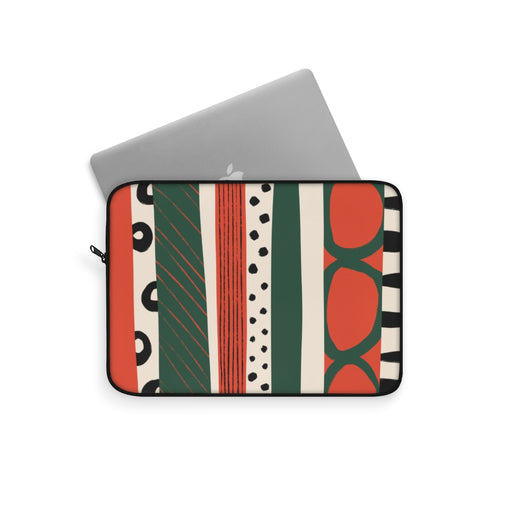RETRO PATTERN LAPTOP SLEEVE