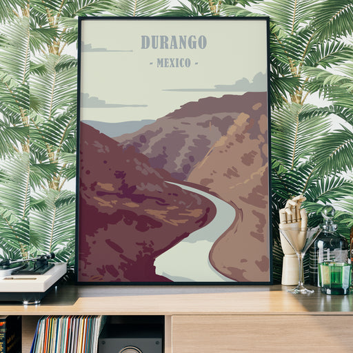 Durango - Mexico Travel Poster