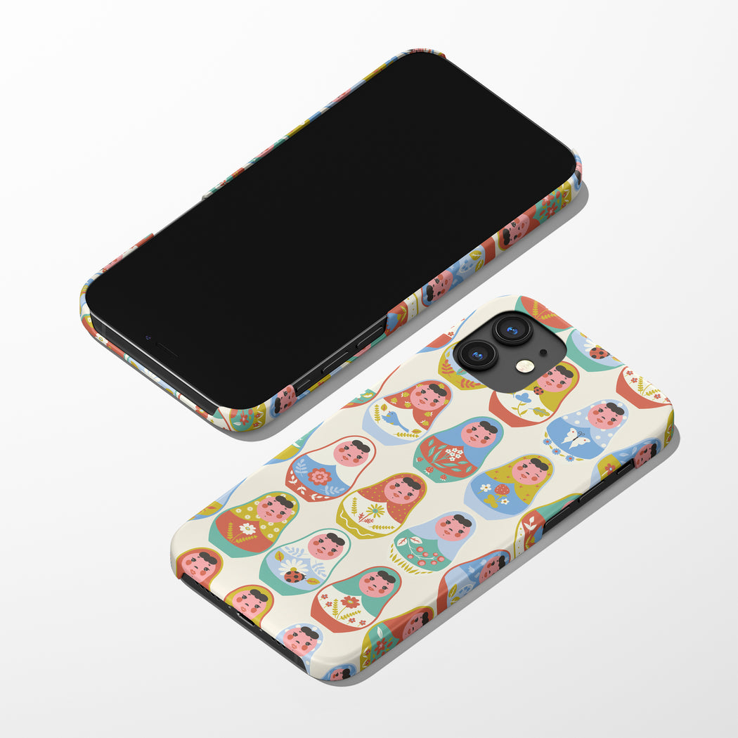 iPhone 12 Case with Matrioshkas
