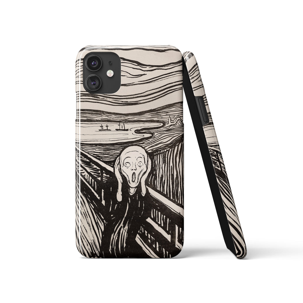The Scream - iPhone Case