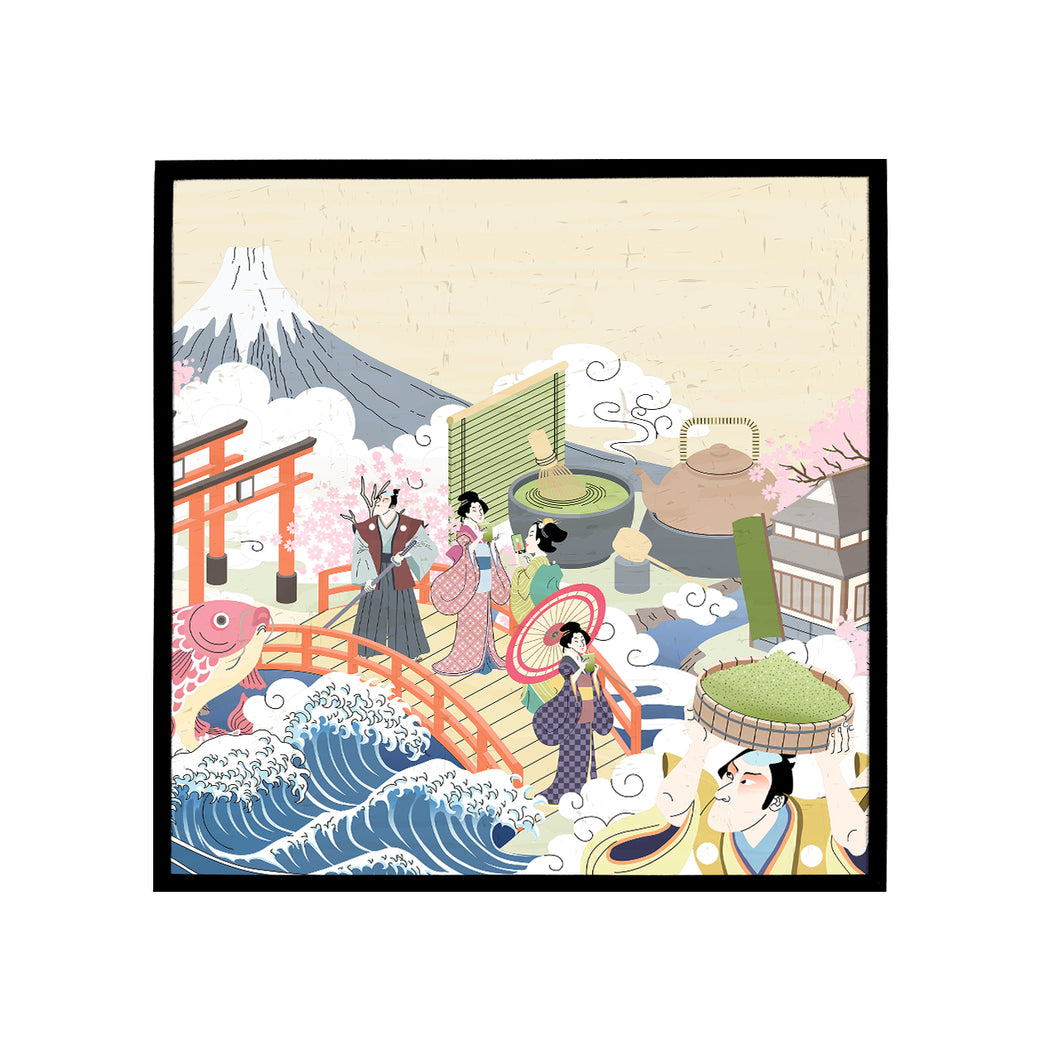 Japanese Illustration Art Print