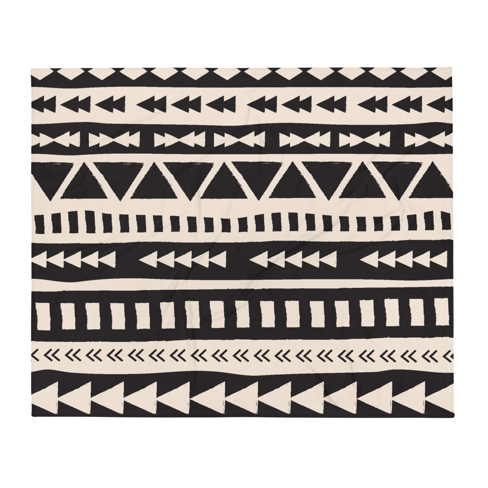 Etno Art Throw Blanket