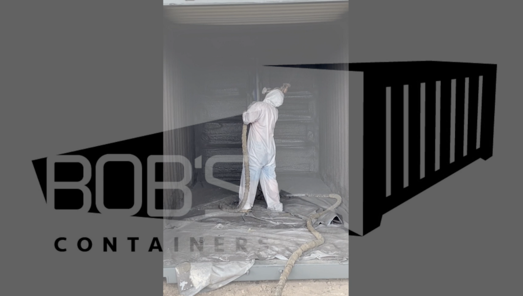 Spray Foam Insulation — the Best Insulation Option for Shipping Container Homes