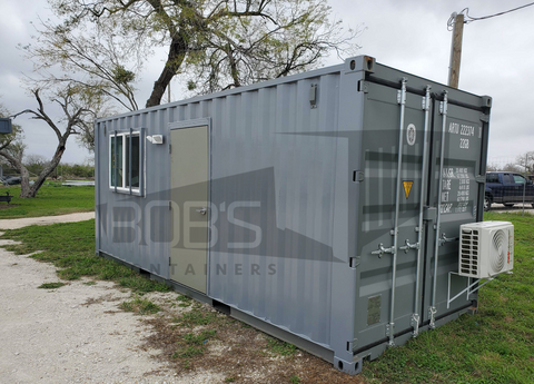 20 foot container office built with new container