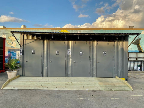 commercial shipping containers