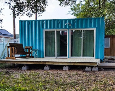 beaumont shipping container home