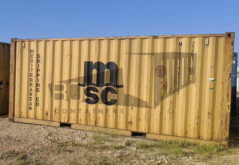 used 20 foot shipping container
