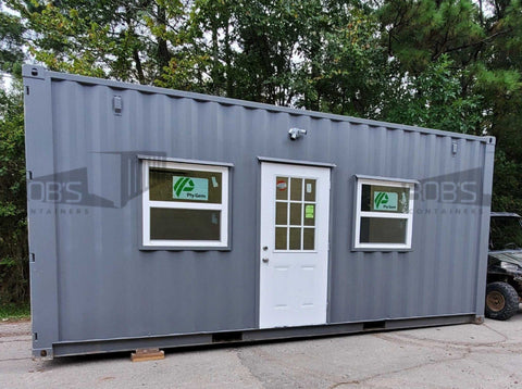 20 foot basic container home
