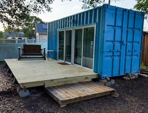 20 foot premium cabin shipping container