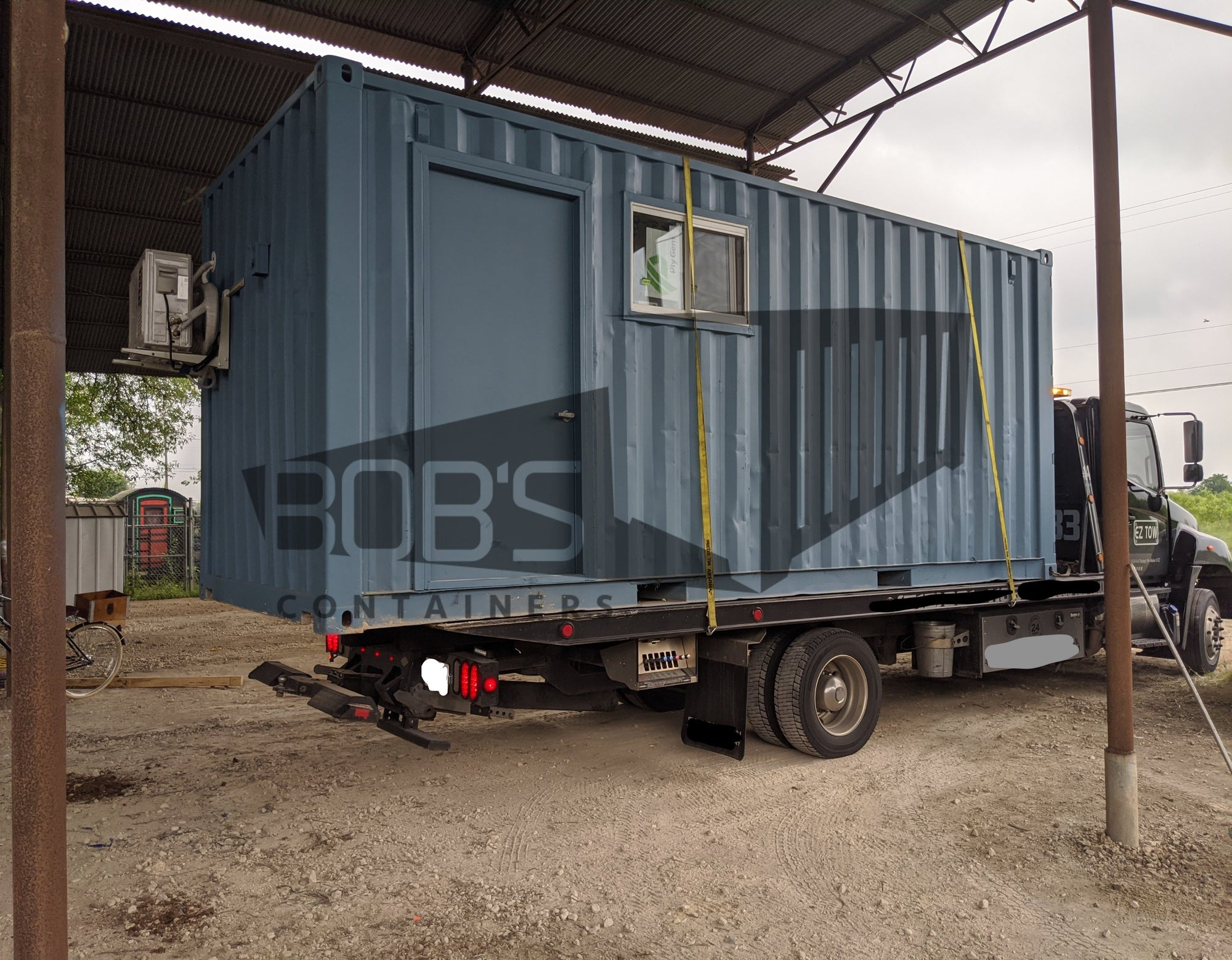 20 foot hybrid container office exterior