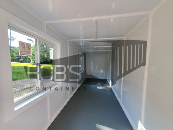 40 foot basic container office interior
