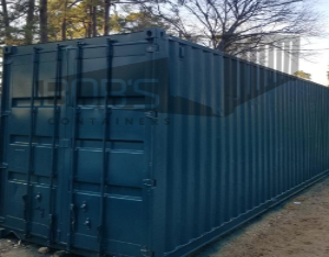 40 foot cool box walk-in cool shipping container
