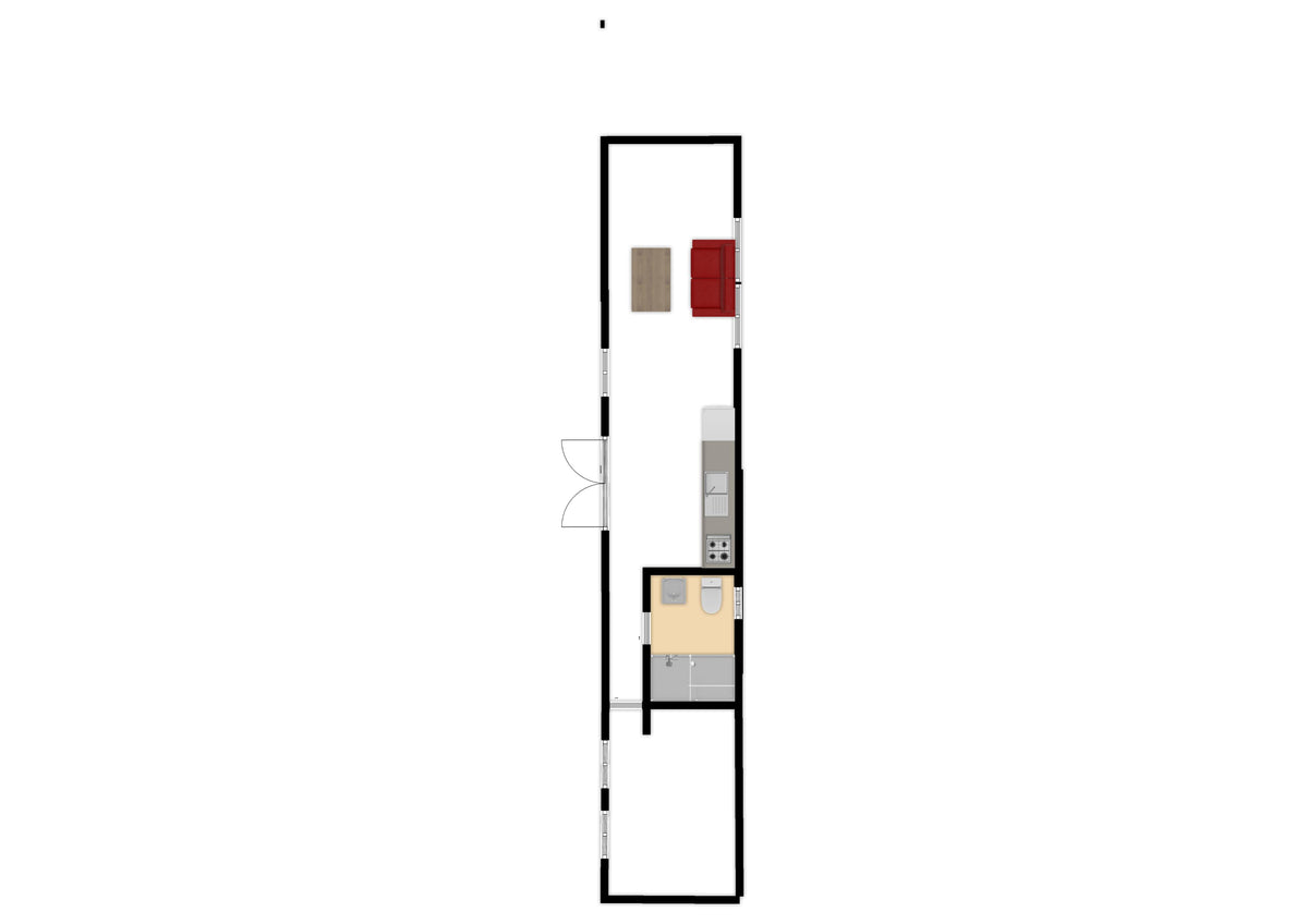 "40 ft Container Home - ""The El Dorado"" Model"