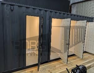 20 foot shipping container with shower stalls