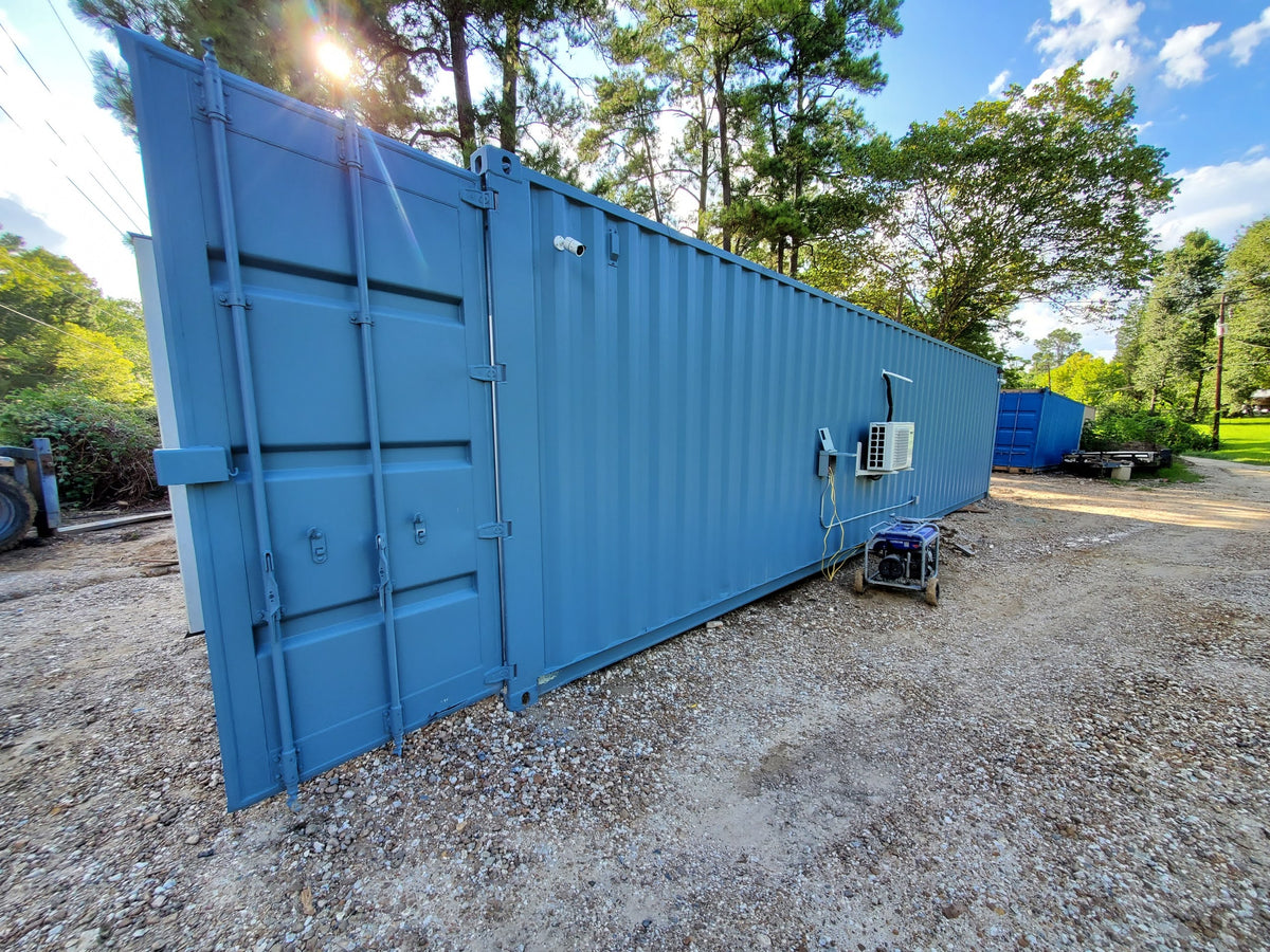"DIY Kit - 40 ft Container Home - ""The Birch"" Model"