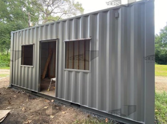 20' container home exterior shell