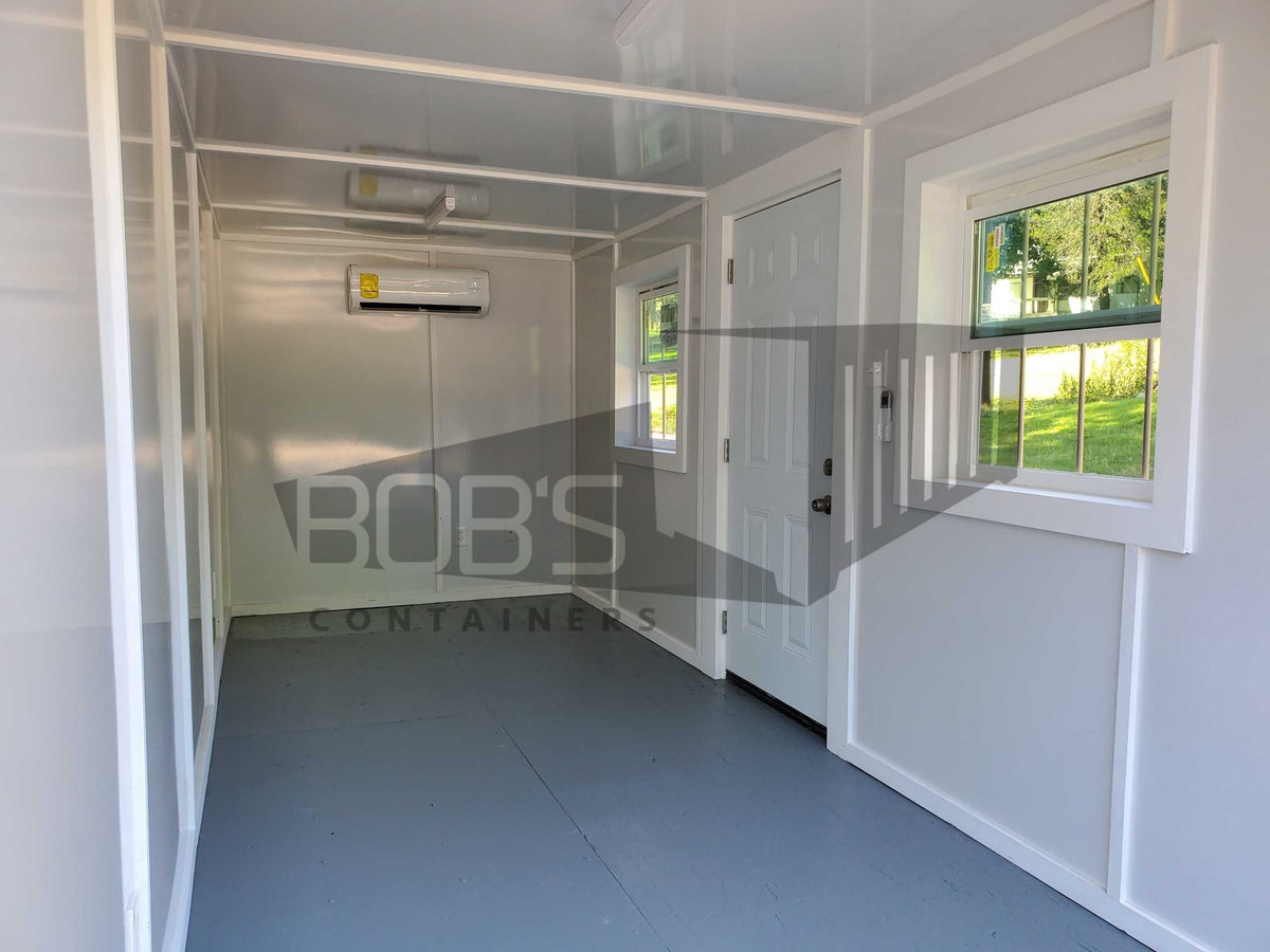 20 foot shipping container office interior