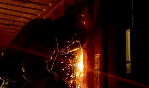 Welding Multiple Containers Together