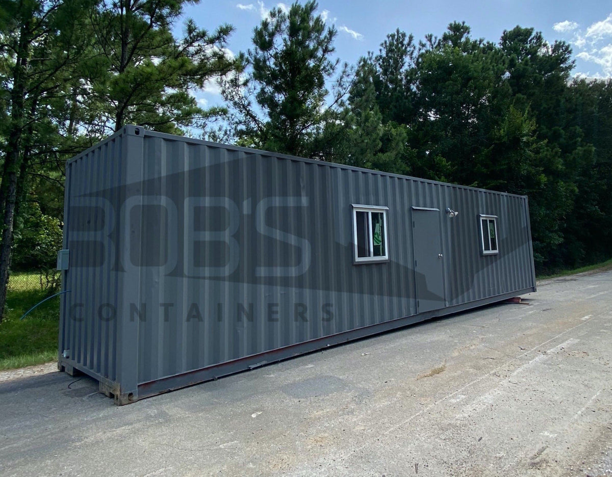 "DIY Kit - 40 ft Container Home - ""The Alpine"" Model"