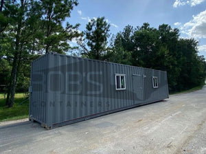 40 foot grey shipping container office