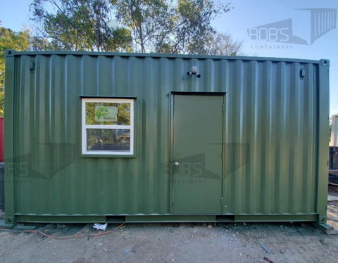 20' container home Fort Worth model