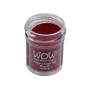 Wow! Embossing Powder 15ml - Regular Grade - Apple Red