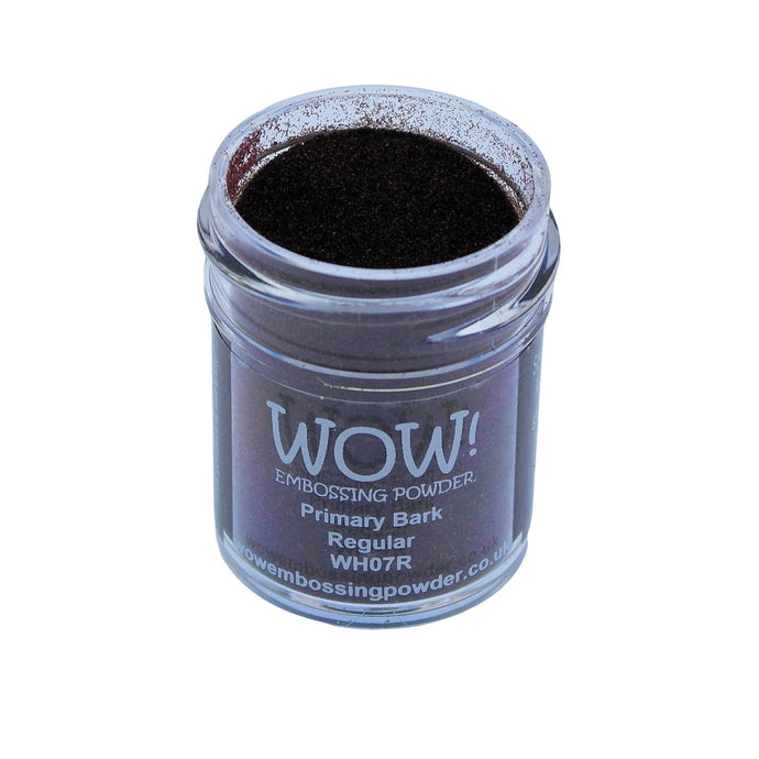 Wow! Embossing Powder 15ml - Regular Grade - Bark