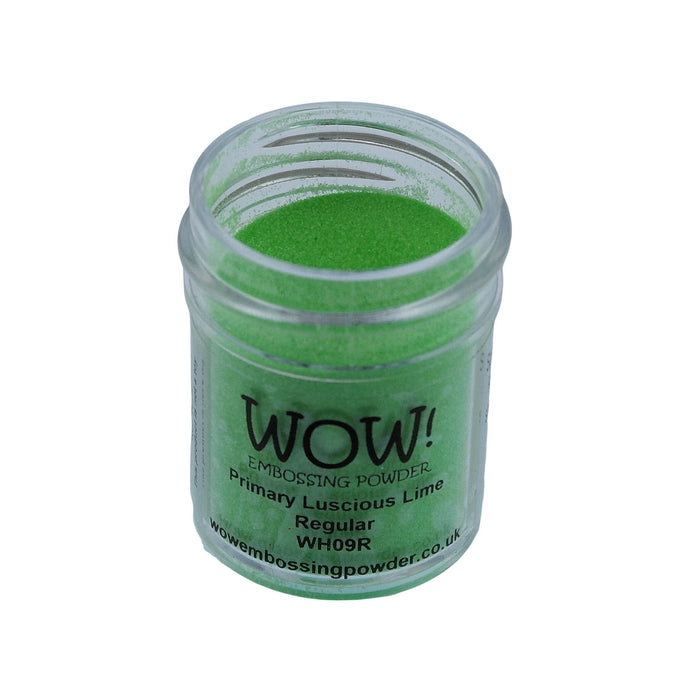 Wow! Embossing Powder 15ml - Regular Grade - Luscious Lime