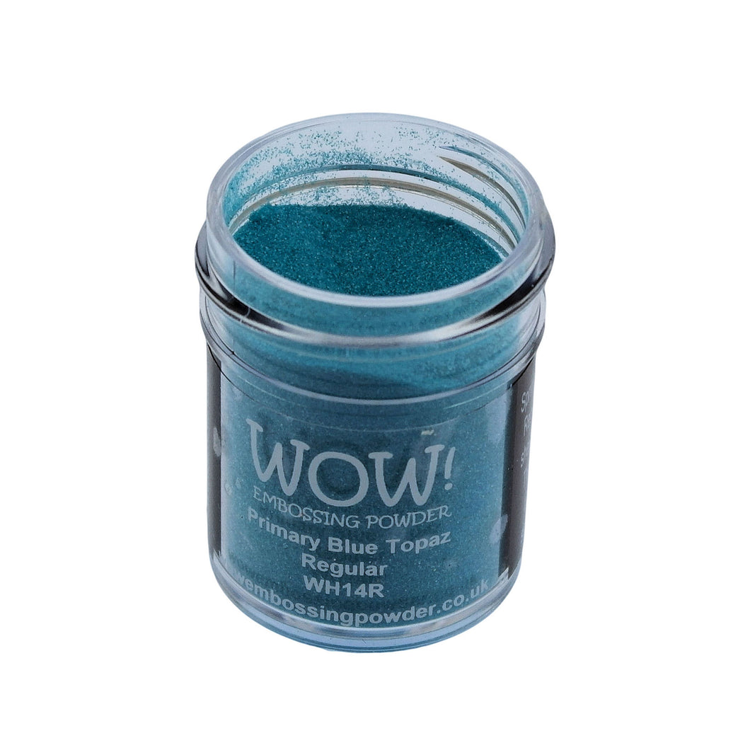 Wow! Embossing Powder 15ml - Regular Grade - Blue Topaz