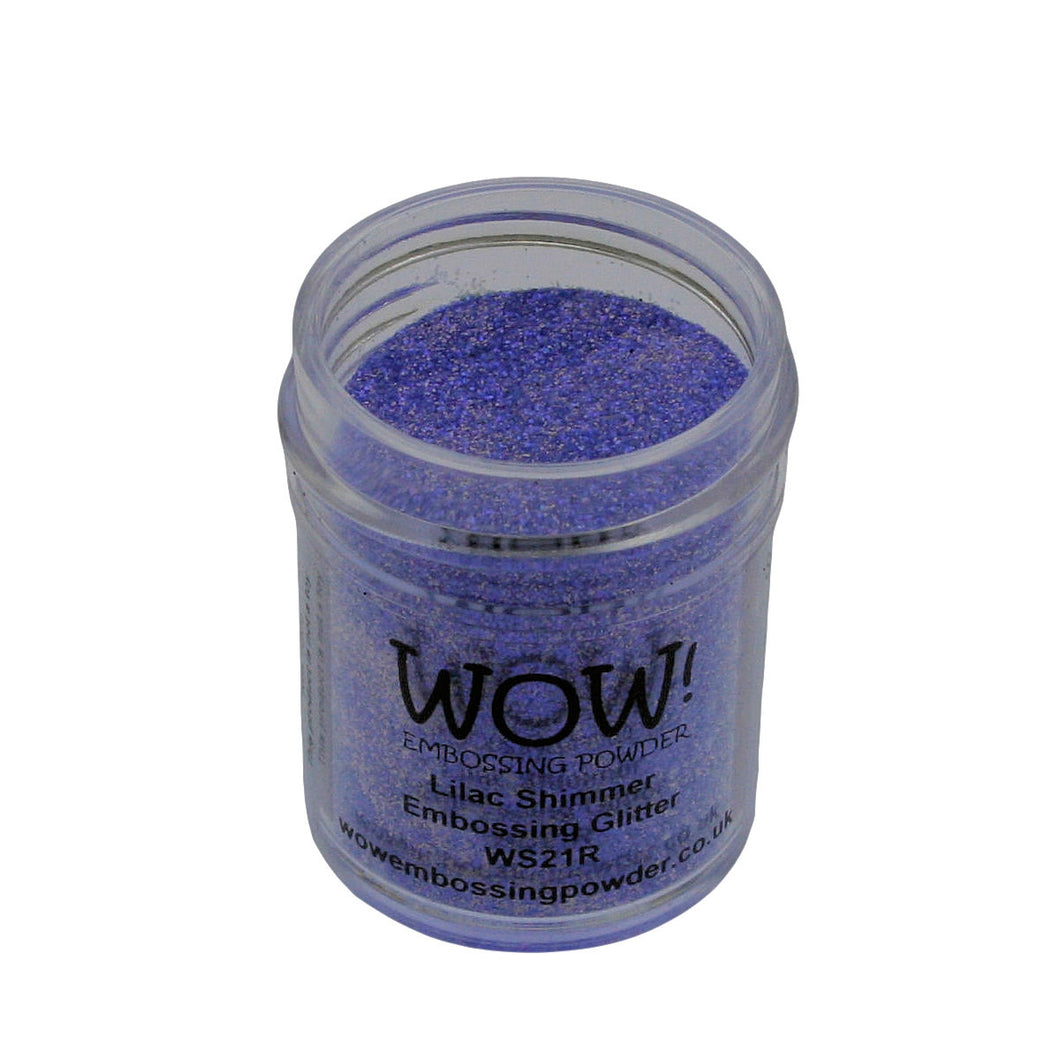Wow! Glitter Embossing Powder 15ml - Lilac Shimmer