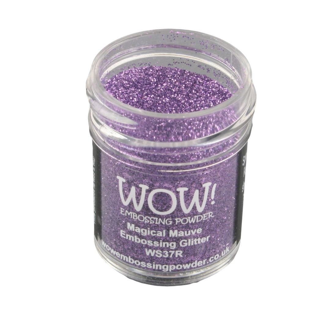 Wow! Glitter Embossing Powder 15ml - Magical Mauve