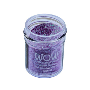 Wow! Glitter Embossing Powder 15ml - Raspberry Coulis