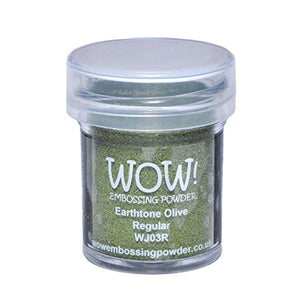 Wow! Embossing Powder 15ml - Earthtone - Olive
