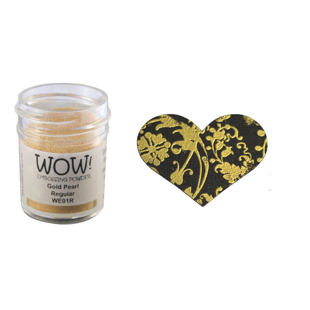 Wow! Embossing Powder 15ml - Pearlescent - Gold