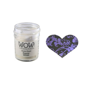 Wow! Embossing Powder 15ml - Pearlescent - Violet