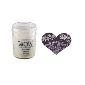 Wow! Embossing Powder 15ml - Pearlescent - Red