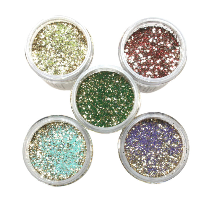 Wow! Glitter Embossing Powder 5 Piece Set - Gods Collection