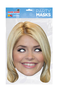 Holly Willoughby Official Celebrity Face Mask