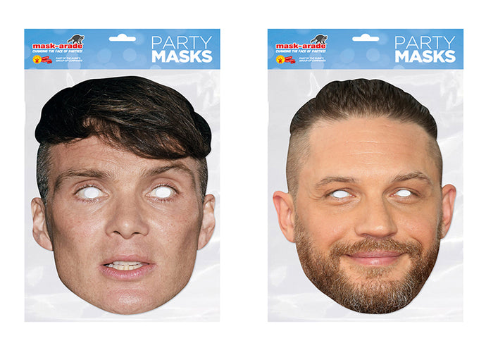 Cillian Murphy and Tom Hardy Celebrity Face Masks