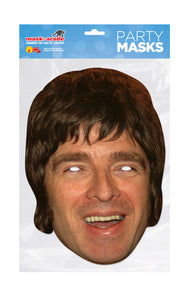 Noel Gallagher Musician Face Mask