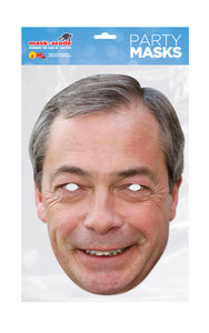 Nigel Farage Politician Face Mask