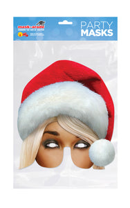 Mrs Claus Christmas Face Mask