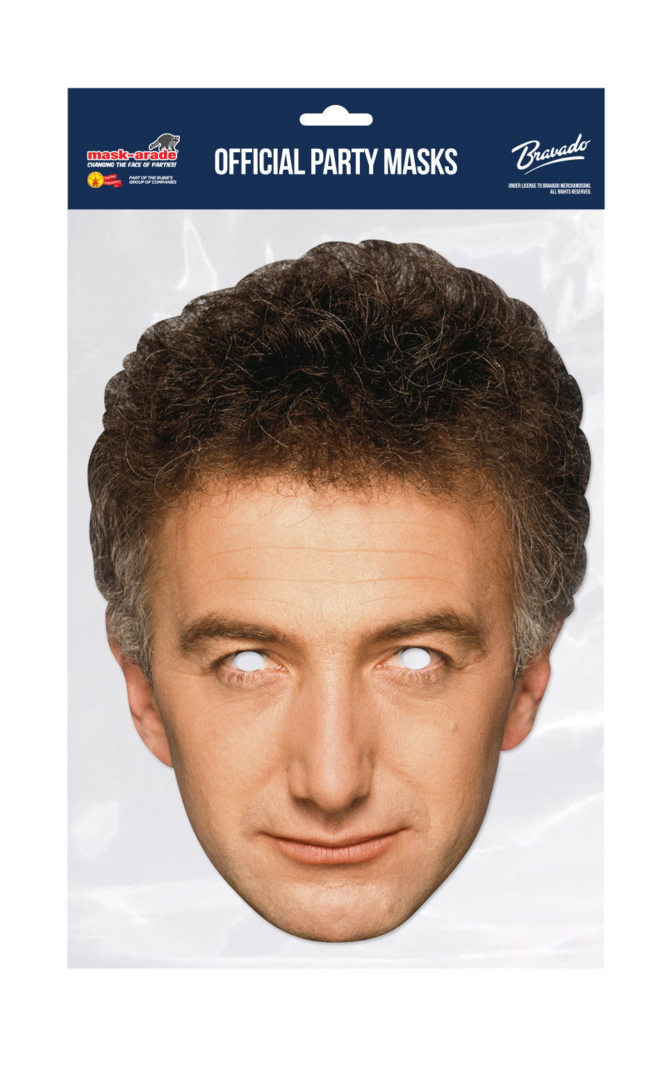 Queen John Deacon Official Celebrity Face Mask