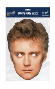 Queen Roger Taylor Official Celebrity Face Mask