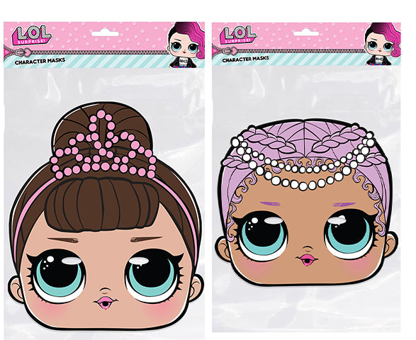 Fancy and Merbaby LOL Official Face Masks